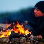 Vilostund inför nattfisket i Finnmark