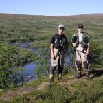 Patrik och Niklas vid Dellikjokk