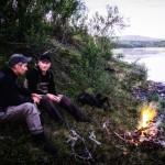 Kvällsfiske i Hemligjokk